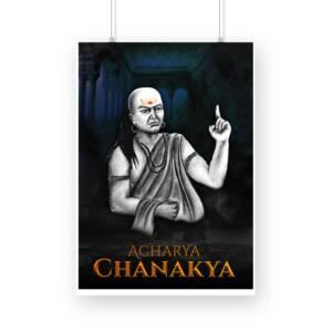 Chanakya photo poster A3